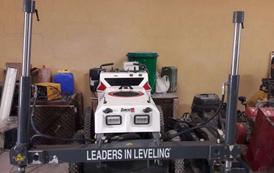 concrete laser screed machine