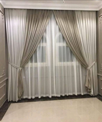 curtains making and fixing work