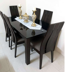 dining table 6 chair