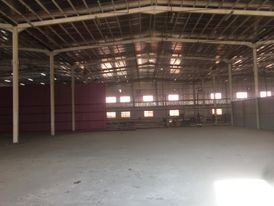 For rent a Warehouse in the industrial area