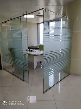 glass partition work 10