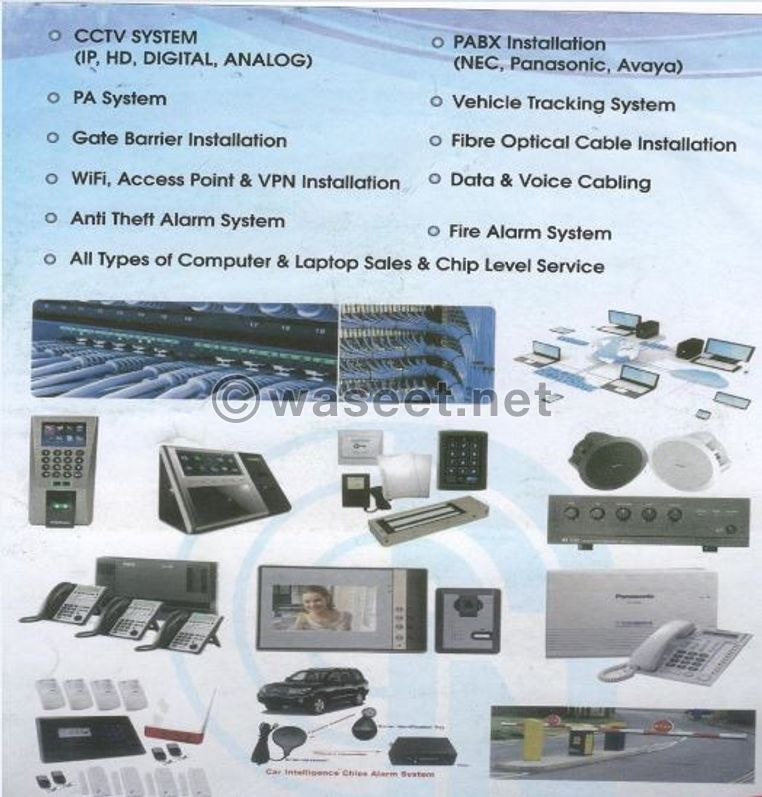 installation CCTV cameras by SIRA approved 3