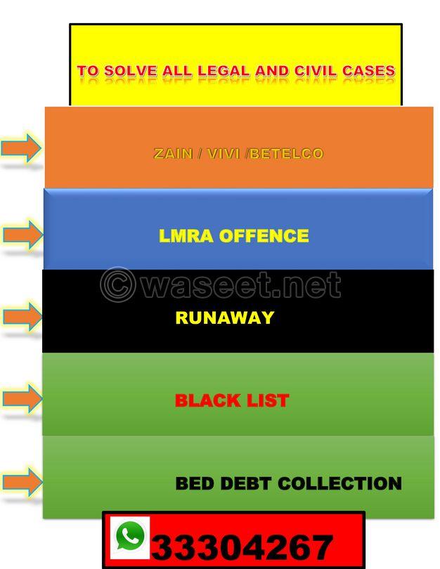legal and civil cases