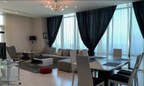 For rent a furnished apartment in Seef district 2