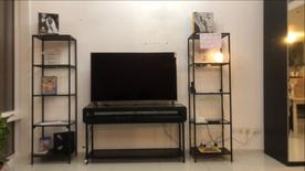 panasonic tv and table