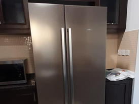 Bosch Refrigerator Stainless Steel Body