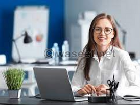 A Filipino Female Secretary is required for an office in Sharjah