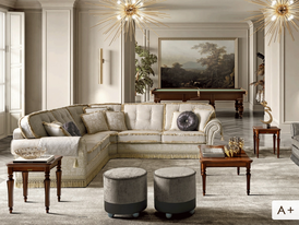 Own two rooms and lounge with luxurious finishes