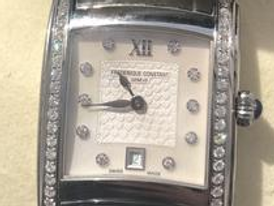 A world brand watch with real diamonds