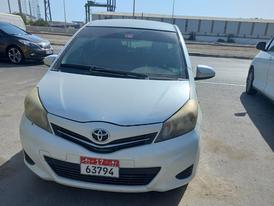Toyota Yaris 2014 model