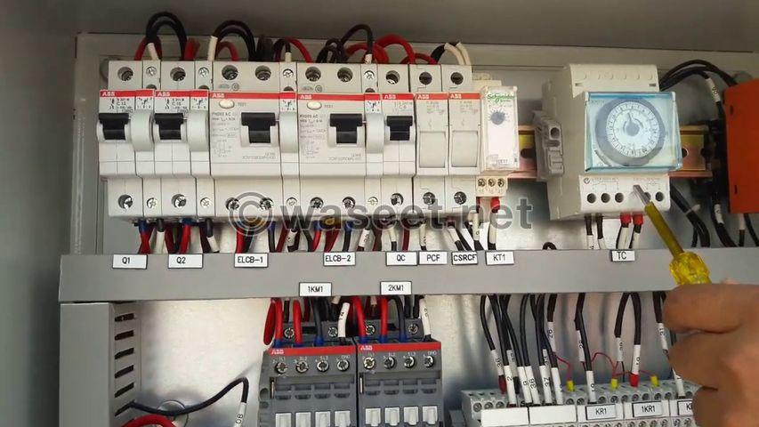 We repairing water pump panel baord 2