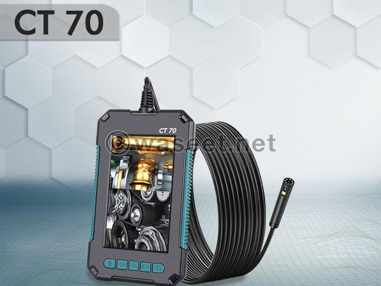 CT 70 كاميرا التفتيش والفحص المحمولة والمذهلة