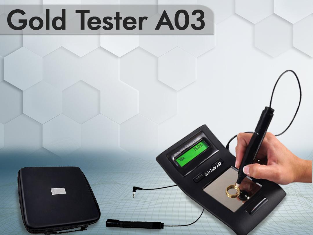 gold tester  اختبار جميع ألوان وأنواع الذهب