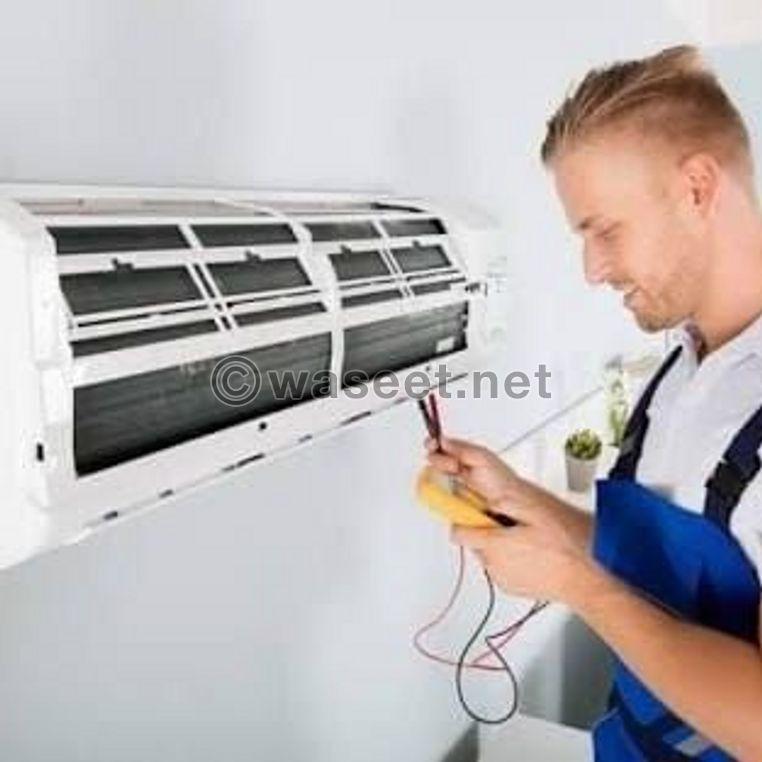 خدمة 24 ساعة صيانة مكيفات