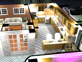 Design and inspect your 3D home before starting construction and furniture 12