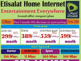Home internet service wifi Elife