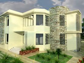 تصميمات 3d معمارية و هندسية متواجد بالعبور