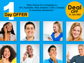 Exclusive one-day discount for IELTS