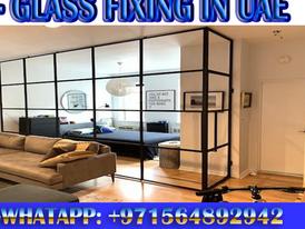 Glass Partition Contractor Ajman Sharjah 7