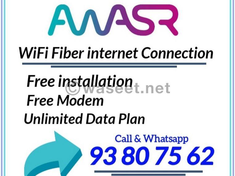 Awasr WiFi Fibre optic connection 0