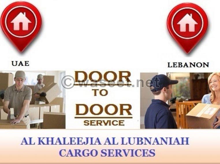 Easy door to door  service from UAE to Lebanon 0