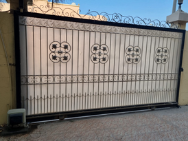 gate with drive