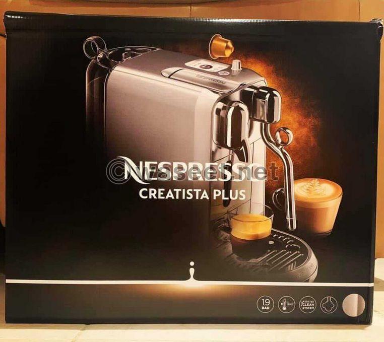 ماكينة قهوة ماركة Nespresso 1