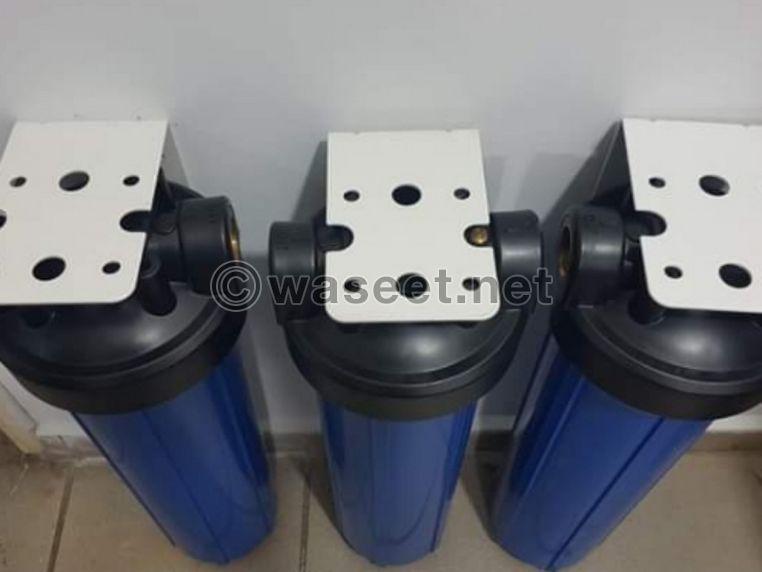 Big blue filter لتنقية خزان المياه 0