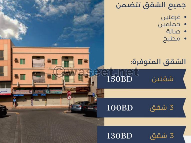 Flats for rent in Hidd