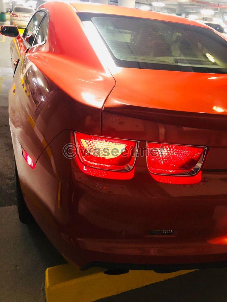 Chevrolet Camaro SS V8 GCC Specs 2012 1