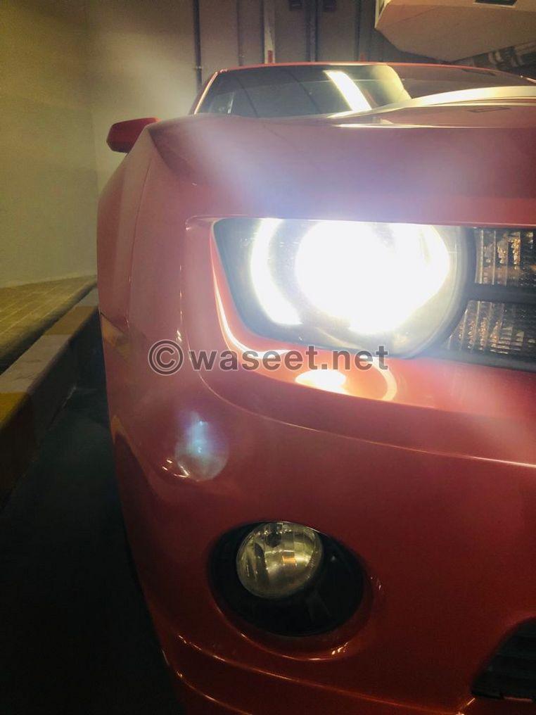 Chevrolet Camaro SS V8 GCC Specs 2012 8