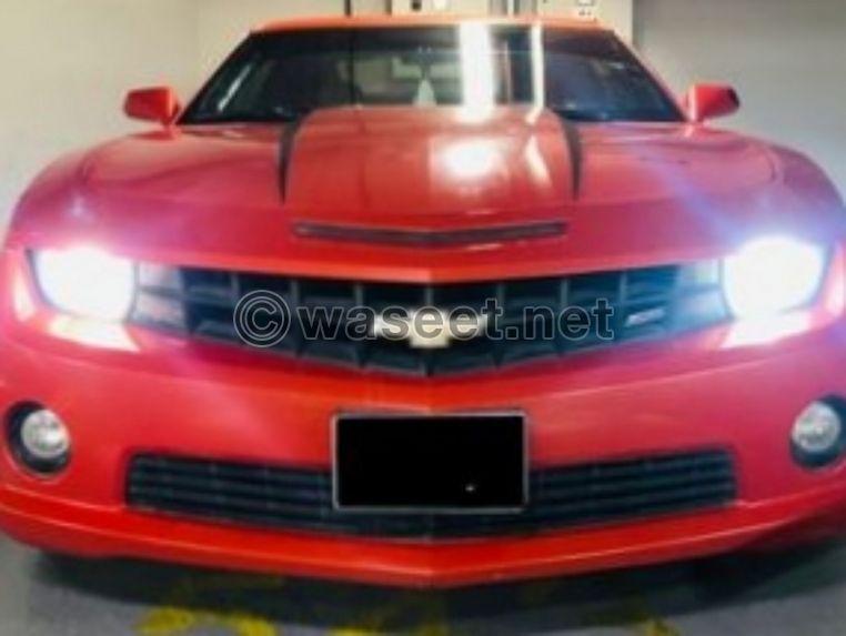 Chevrolet Camaro SS V8 GCC Specs 2012 0