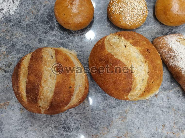 مخبز يعمل مع كامل التجهيزات بسعر مغر للبيع المصفح الصناعية
