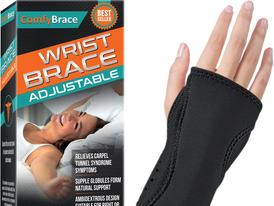 Night Wrist Sleep Support Brace  Fits Both Hands