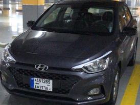 Clean Hyundai i20 grey for sale year 2019