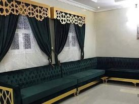 Sofa & curtain shop / new make anywhere qatar 2