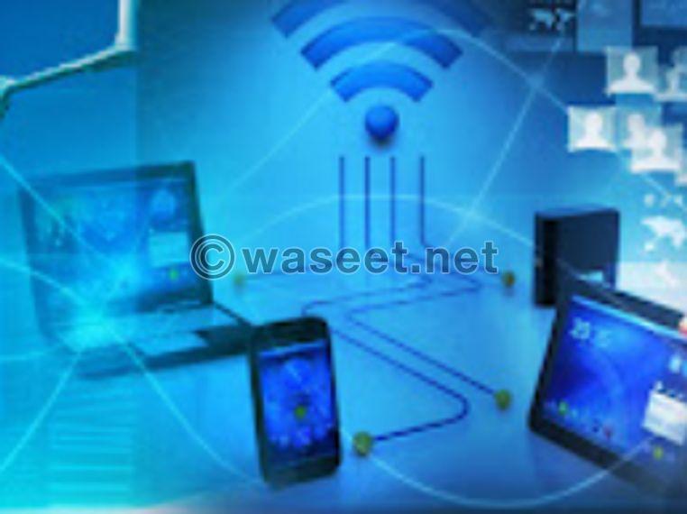 wifi internet Installation and maintenance of CCTV cameras 0