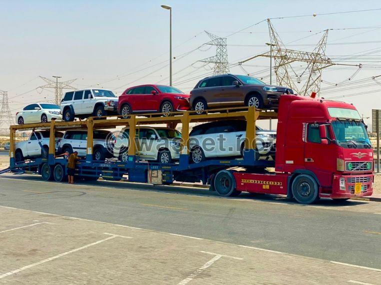 شحن سيارات التصدير والسياحي 0