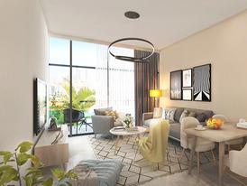 استلم شقة غرفتين وصالة  في أفخم برج في عجمان
