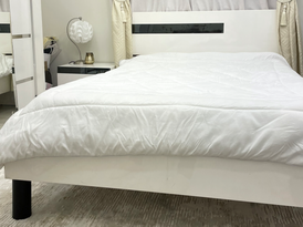 white bed for sale