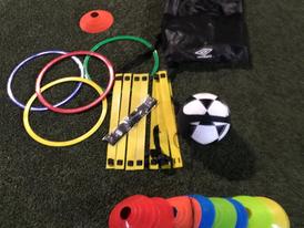حقيبة التدريب الإحترافي لكرة القدم واللياقة البدنية