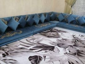 We have upholstery and change of fabrics of boards and curtains 11