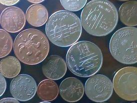 عملات معدنية عربية و اجنبية نادرة 1000ج 10