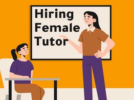 Female Tutor Wanted Hourly Basis 8