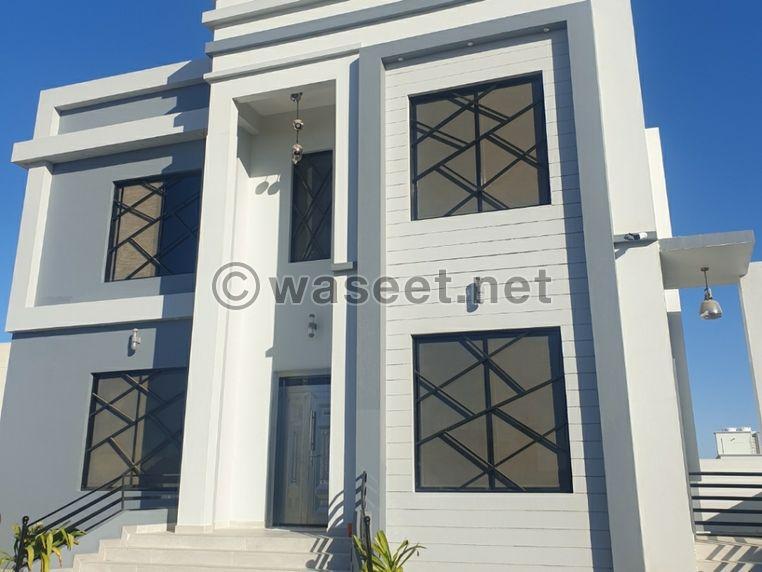 منزل حديث البناء للبيع   بركاء مزرع الحرادي 0