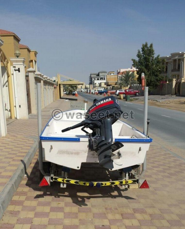 قارب صغير مع قالوصة 1