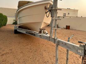 قالوصة قارب 34 قدم من trailer teck ابوظبي