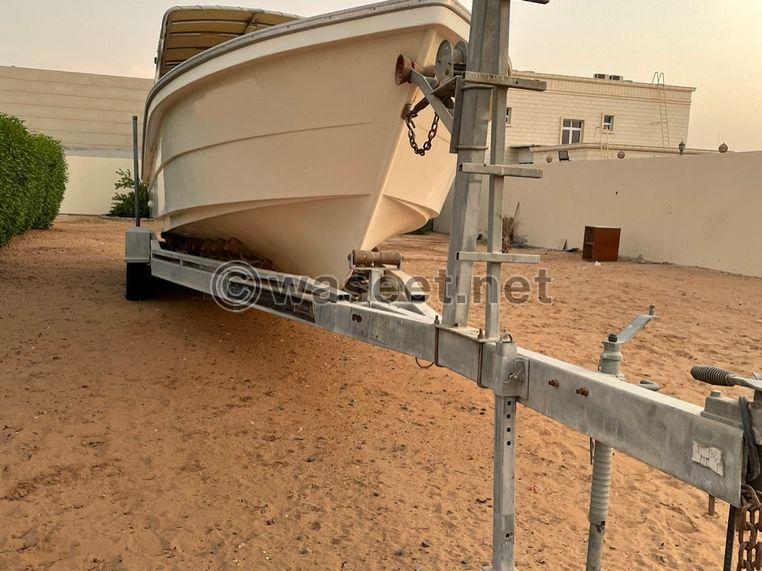قالوصة قارب 34 قدم من trailer teck ابوظبي 0