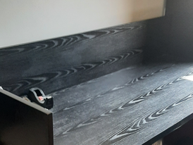 Semi-new domestic solid wood industry reception desk 13