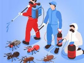 Pest Control, Cleaning & Sanitizing